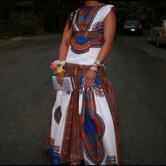 0ebc7bc0265f Dresses | Beautiful African Print Dress Worn Once To Prom | Poshmark